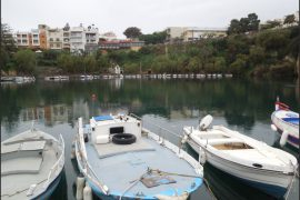 agios-nikolaos-lake-kourites-rent-car-crete